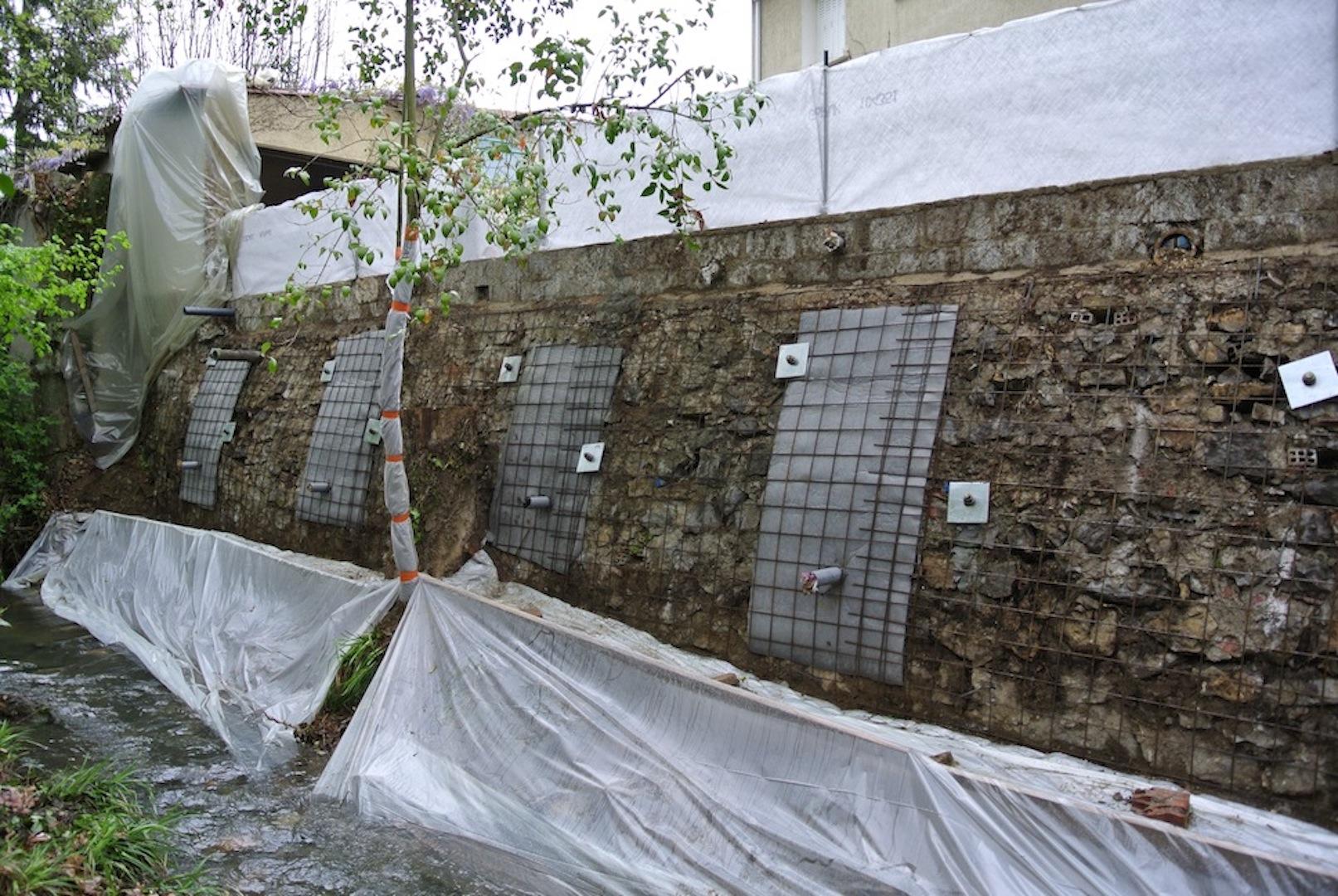 1- Mur de soutènement projection 002
